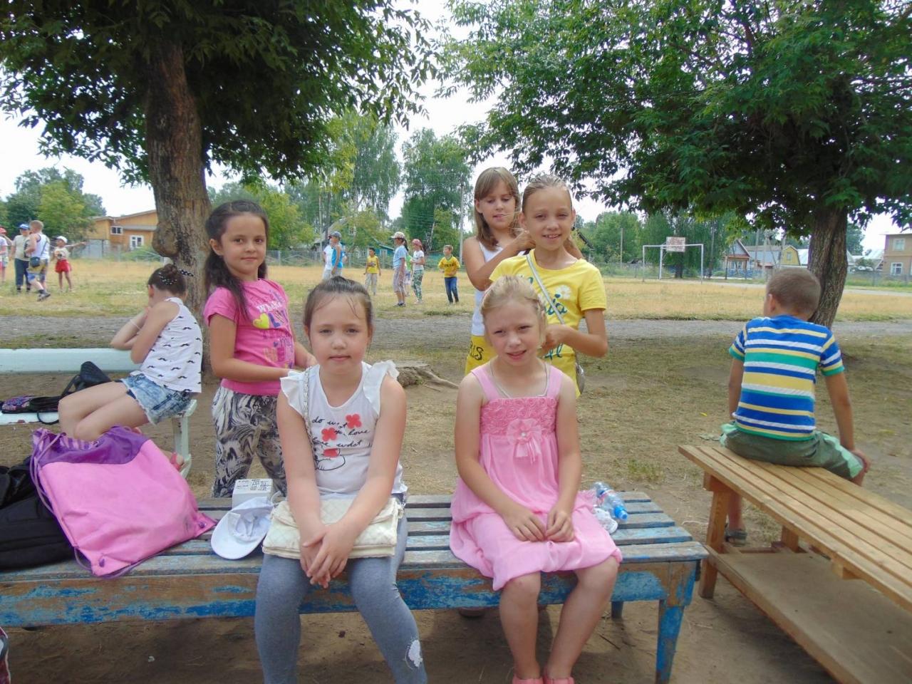 Прически в лагерь